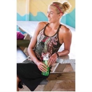 Athleta. Pratima paisley workout tank.